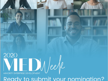 National Minority Enterprise Development Week Awards are Now OPEN for Nominations!