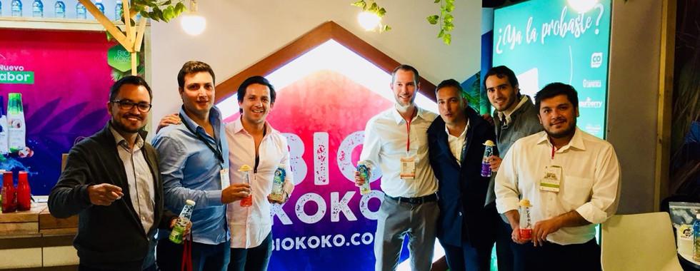 El equipo de Novail junto al de las marcas PuroCoco y BioKoko