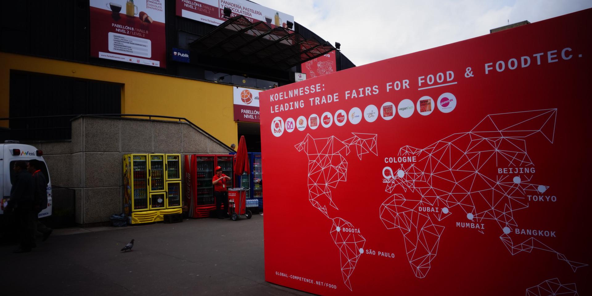 Alimentec es organizada por KOELNMESSE, la cual es responsable de las ferias alimenticias más importantes alrededor del mundo.