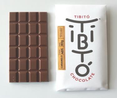 Caramelo 40% / 80 gramos