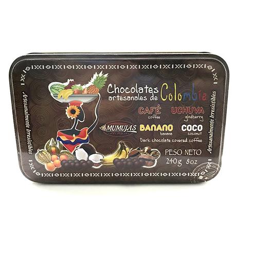 Grageas surtido envuelto en chocolate / 240 gramos
