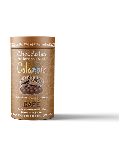 Grageas café envuelto en chocolate / 180 gramos