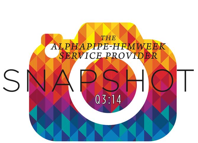 Third Quarter 2014 AlphaPipe and HFMWeek Service Provider Snapshot.