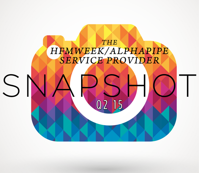 Second Quarter 2015 AlphaPipe and HFMWeek Service Provider Snapshot.