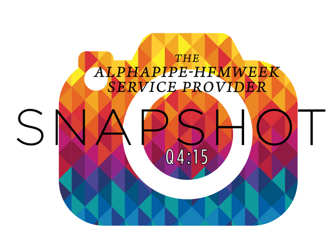 Fourth Quarter 2015 AlphaPipe and HFMWeek Service Provider Snapshot.