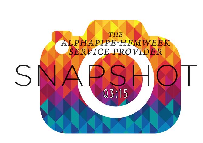 Third Quarter 2015 AlphaPipe and HFMWeek Service Provider Snapshot.