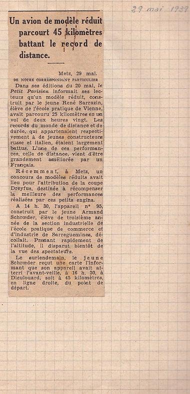 EAS Journal 1939 mai