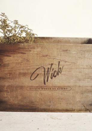 """Markenberatung und Branding """"WICK"""""""