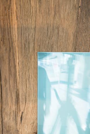 Glas Flächenbündig Detail