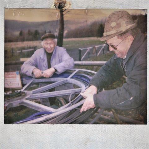 Herrn Pirr Senior mit Willi Deusinger