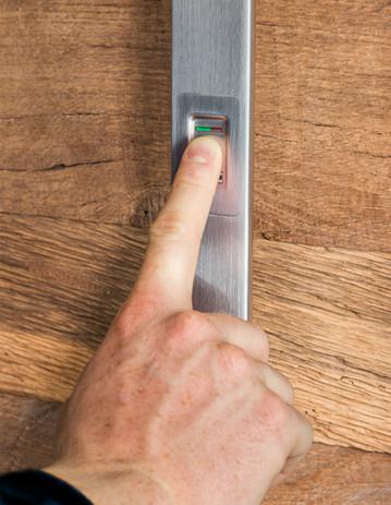 Fingerprint im Griff