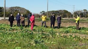 有機農業について国会議員と初めて懇談