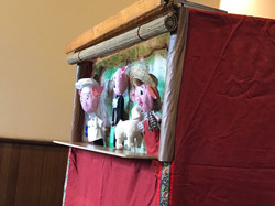 Puppet show for kids