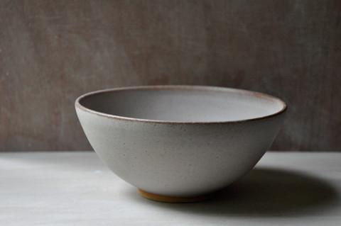 Toasted stoneware pasta bowl
