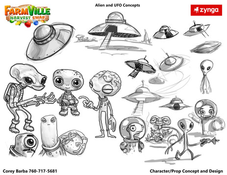 Aliens- Character Exploration