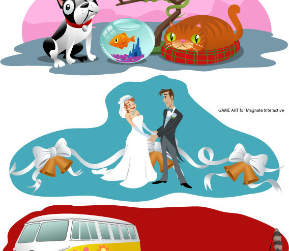 MASH - Pets, Marriage and Vehicle