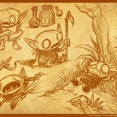 Garlick- Character Sketches