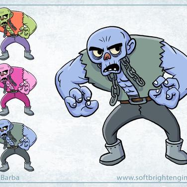 Ickabot- Character Design