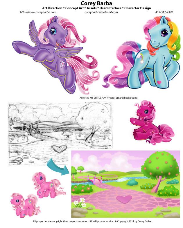 My Little Pony- Old School