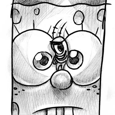 Sketch for Cover of SpongeBob Comics