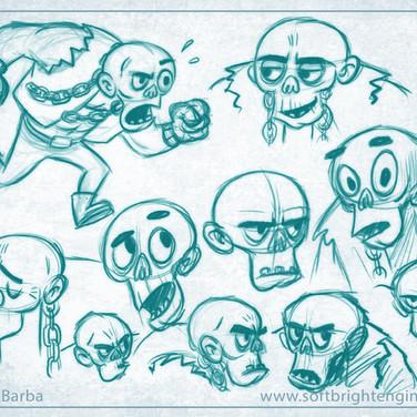 Ickabot- Character Sketches