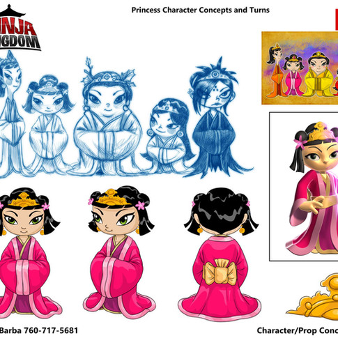 Princess Character Design