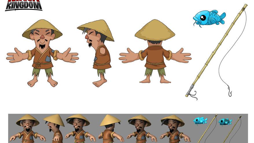 Fisherman Character Design