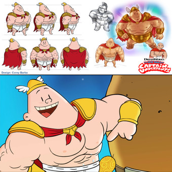 Captain Underpants- Fantasy Style