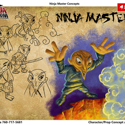 Ninja Master- Character Exploration