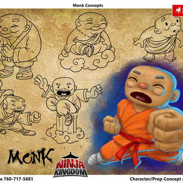 Monk- Character Exploration
