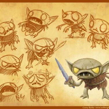 Garlick_ Character Design