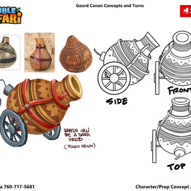 Gourd Cannon