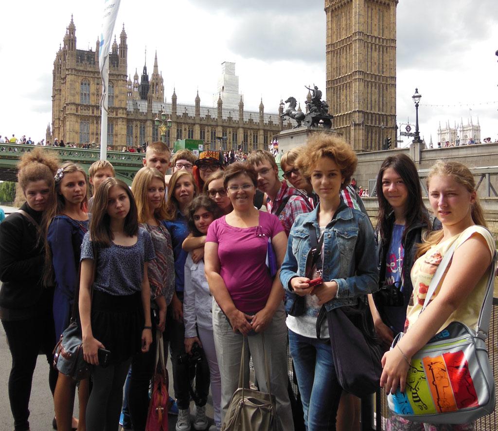 Поездки в Англию