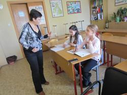 Занятия  на курсах ESOL