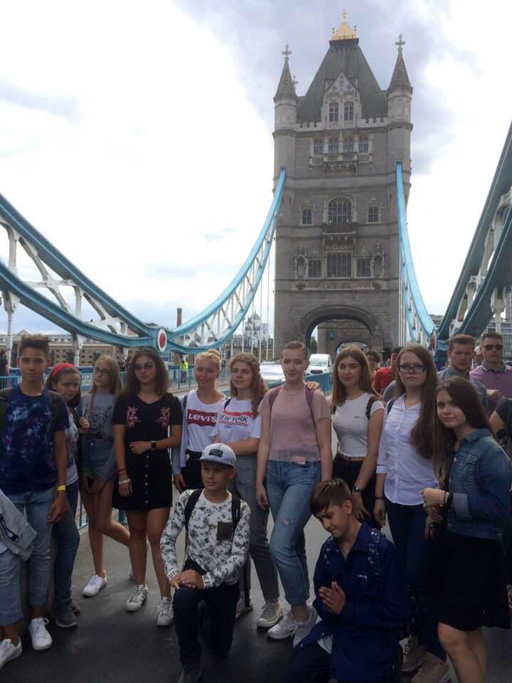 Летняя поездка в Великобританию