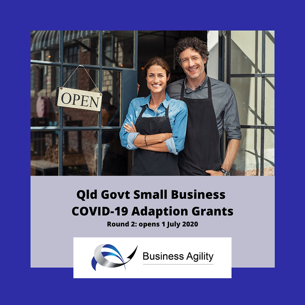 Qld Govt's COVID-19 Adaption Grants open 1 July