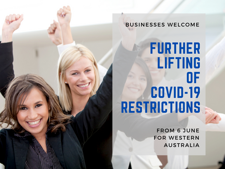 Businesses Welcome Further Lifting of COVID-19 Restrictions from 6 June 2020