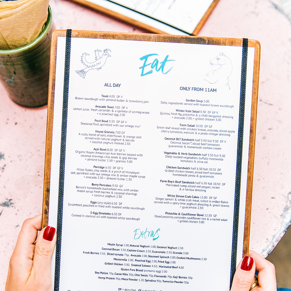 Have you revised your menu / services pricing?