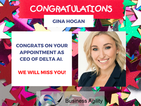 Onwards & Upwards: Gina Hogan, Former Business Agility Consultant Appointed as CEO of Delta AI