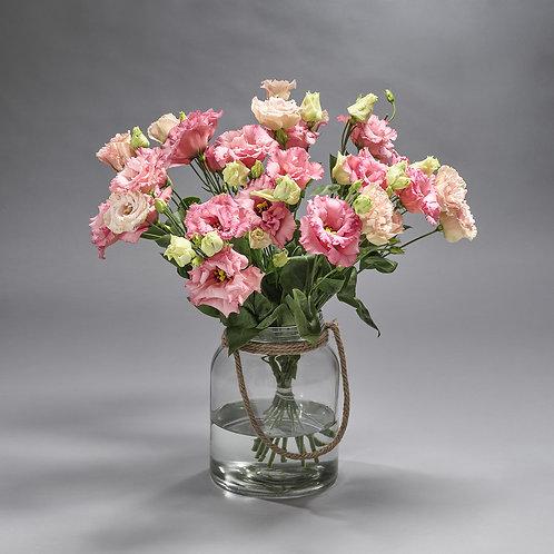 Boeket Rose Lycianthus