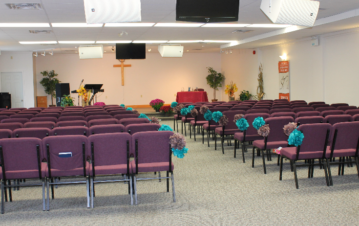 Community Room Seating Area
