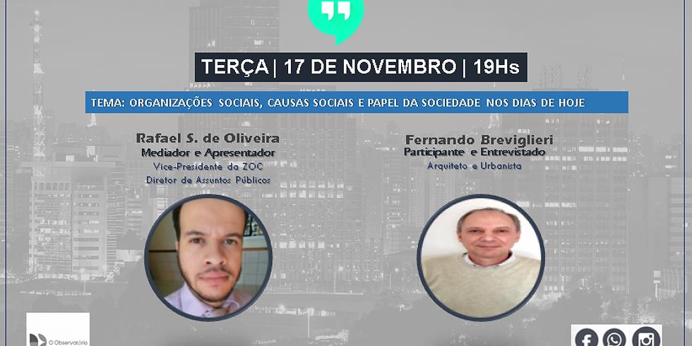 19° Bate Papo - Observatório - Fernando Breviglieri