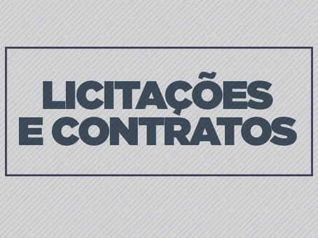 CONTRATAÇÃO DE BENS E SERVIÇOS - (CBS)
