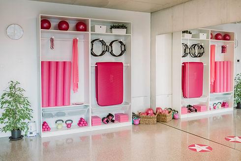 Boutique fitness studio Pinkenergy Lugano