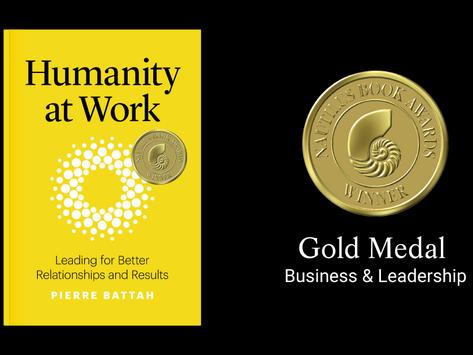 GOLD MEDAL 2020 NAUTILUS BOOK AWARDS