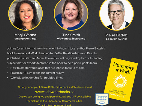 BOOK LAUNCH and LEARNING EVENT