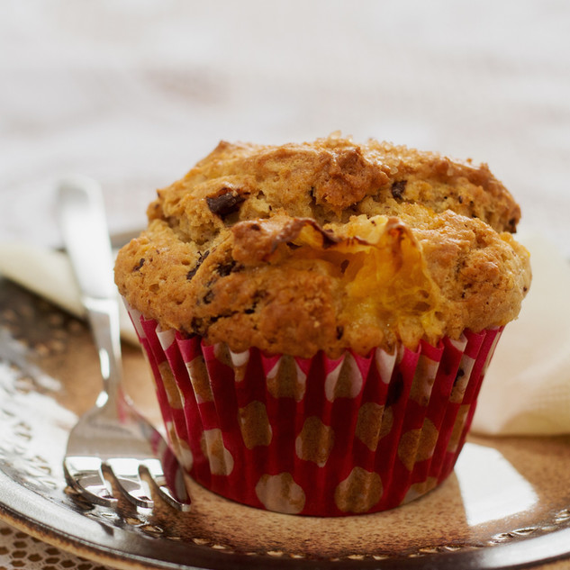 Millflour Dark Chocolate and Orange Muffin