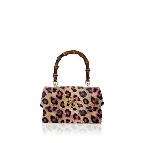 Meghan Bamboo - Leopard Neon