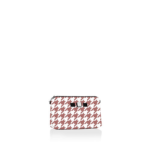 Travel Pouch Medium - Pied De Poule
