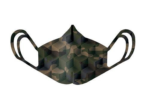 Mascherina - Camouflage Green